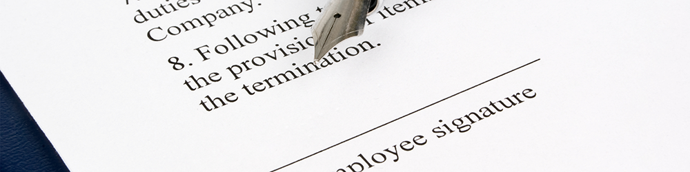 Contract of Employment advice from employment law friend